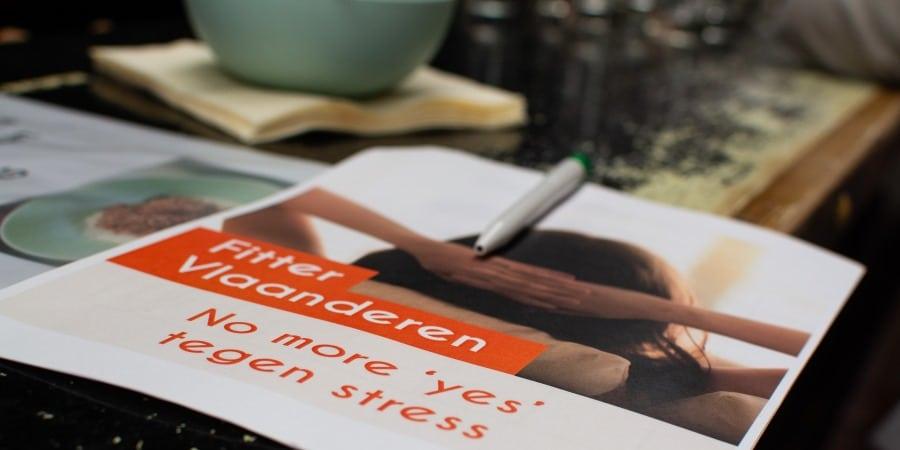 tips tegen stress workshop