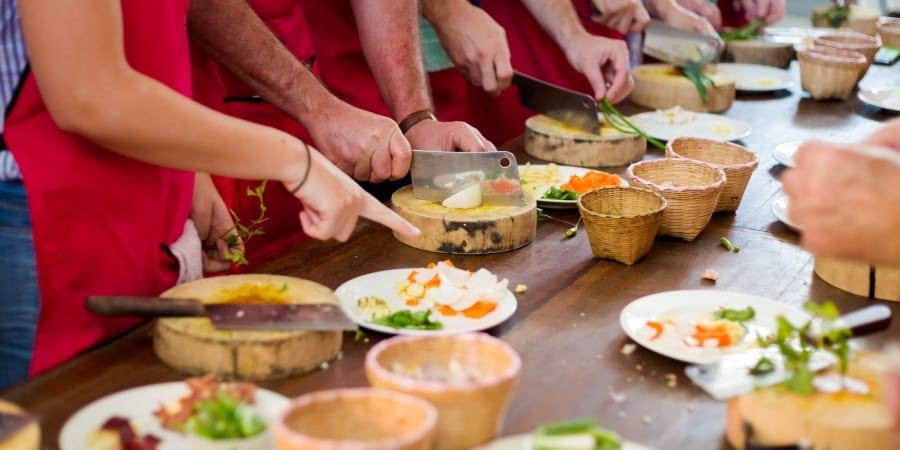 teambuilding gezonde voeding