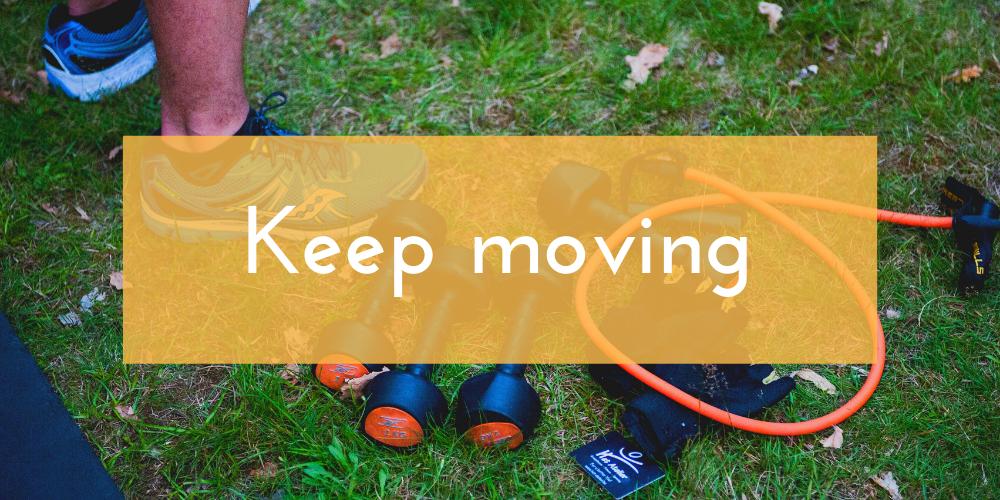 blijven bewegen mini workouts