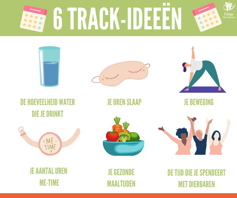 tracken gezondere levensstijl