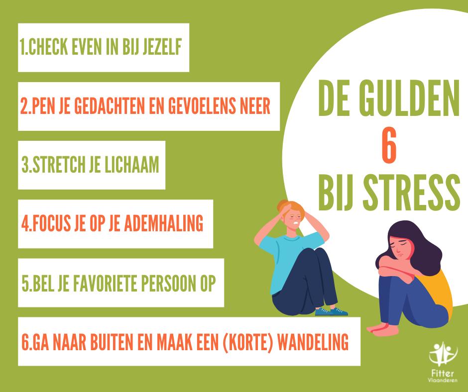 6 tips tegen stress